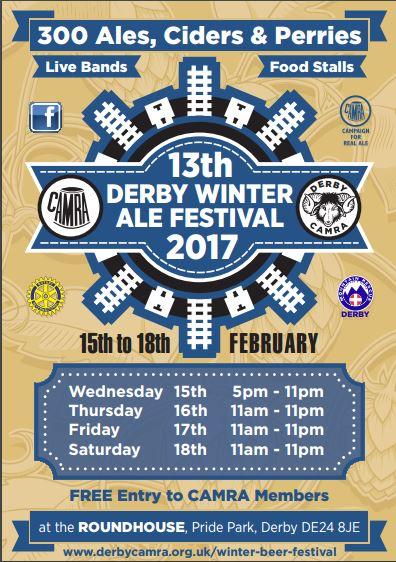 Trip to Derby Winter Ales Festival @ Derby | England | United Kingdom