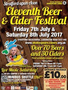 Stratford upon Avon beer festival