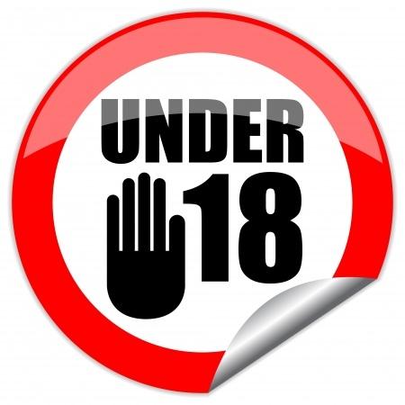no-under-18-minors-prohibited