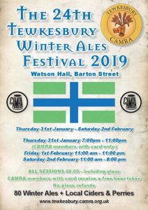 24th Tewkesbury Winter Ale Festival @ Watson Hall | England | United Kingdom