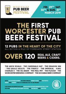 Worcester Pub Beer Festival @ Worcester