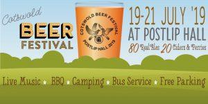 Cotswold (postlip) Beer Festival 2019 @ Postlip Hall
